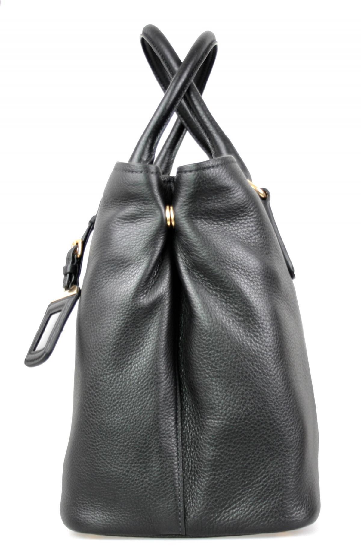 luxus prada schulter tasche handtasche 1ba794 schwarz neu new ebay. Black Bedroom Furniture Sets. Home Design Ideas