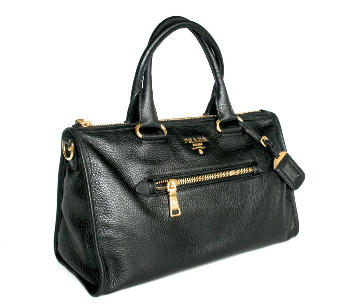 luxus prada schulter tasche handtasche bl0805 schwarz neu. Black Bedroom Furniture Sets. Home Design Ideas