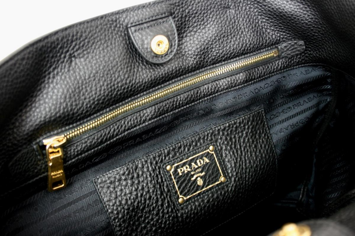 luxury prada bag shopper handbag bn2754 black new new ebay. Black Bedroom Furniture Sets. Home Design Ideas