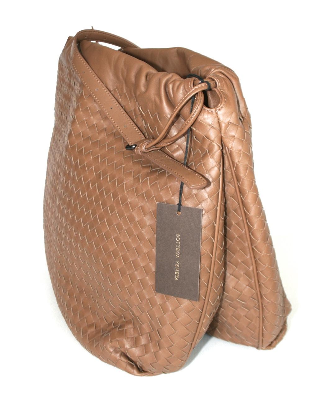 luxus bottega veneta schulter tasche handtasche v0016 caramell neu ebay. Black Bedroom Furniture Sets. Home Design Ideas